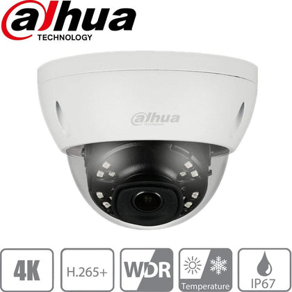 Dahua Security Camera: 8MP(4K) Ultra HD Dome 2.8mm