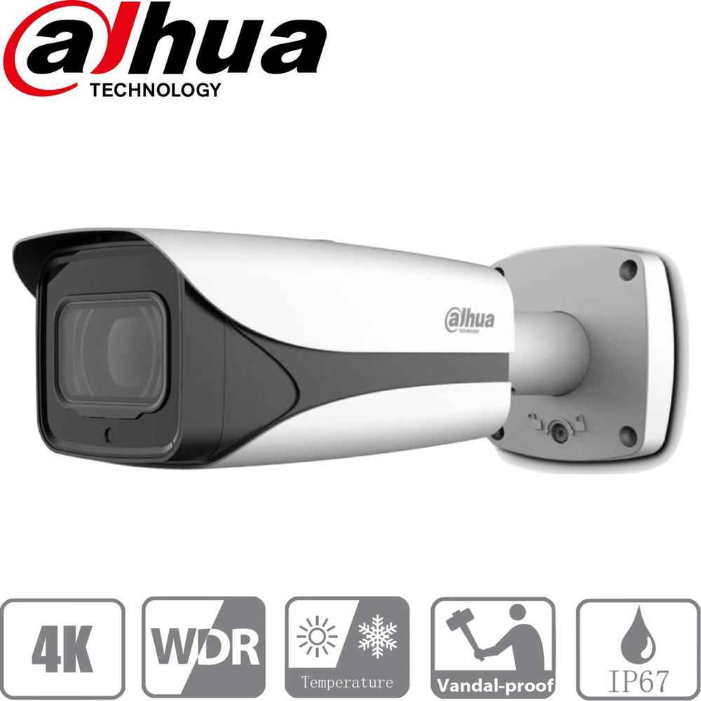 Dahua IPC-HFW5831E-ZE Security Camera: 8MP (4K) Varifocal Bullet 2.7-12mm
