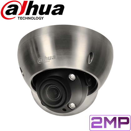 Dahua IPC-HDBW8232E-Z-SL Security Camera: 2MP Starlight Anti-Corrosion VF Dome 4.1-16.4mm