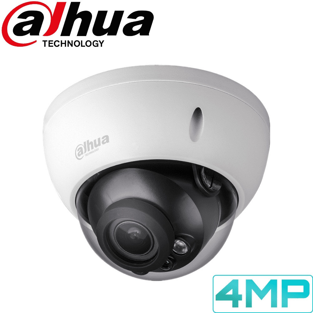 Dahua IPC-HDBW2431R-ZS/VFS Security Camera: 4MP VF Dome, 2.7-13.5mm, 30m IR