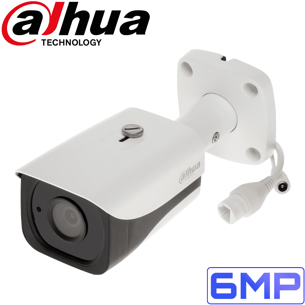 Dahua IPC-HFW4631E-SE Security Camera: 6MP Fixed Lens Mini-Bullet, IP67