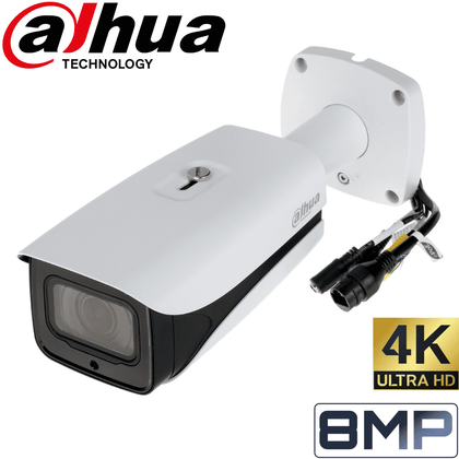 Dahua IPC-HFW5831E-ZE Security Camera: 8MP VF Bullet, 2.7mm - 12mm