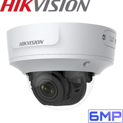 HIKVISION DS-2CD2765G1-IZS Security Camera: 6MP VF Dome, 2.8-12mm, IK10