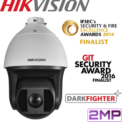 Hikvision DS-2DF8223I-AEL PTZ Security Camera: 2MP Darkfighter PTZ, 23X Zoom, 200m IR