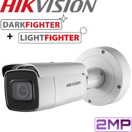 Hikvision DS-2CD5A26G0-IZS Darkfighter Security Camera: 2MP Motorised VF Bullet 2.8-12mm
