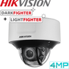 Hikvision DS-2CD5546G0-IZS Darkfighter Security Camera: 4MP Motorised VF Dome 2.8-12mm