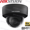 Hikvision DS-2CD2185FWD-I Security Camera: 8MP (4K) Fixed Lens Dome, IK10