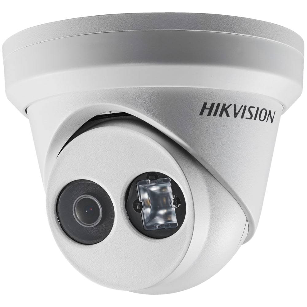 Hikvision 8 Channel Security System: 8MP(4K) NVR, 6 x 6MP Turret Cameras, 3TB HDD