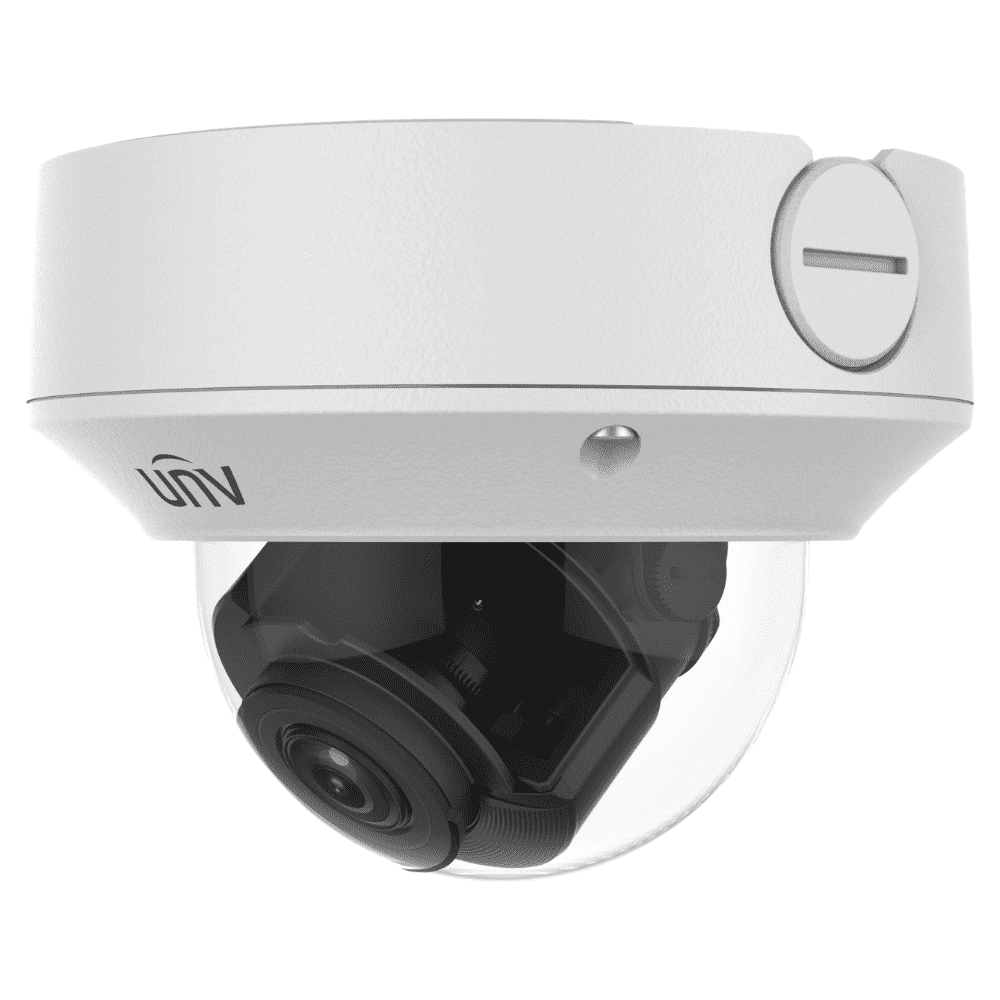 Uniview Security Camera: 8MP (4K) Motorised VF Dome 2.8~12mm, IK10