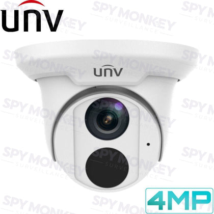 Uniview Security Camera: 4MP Turret, IP67