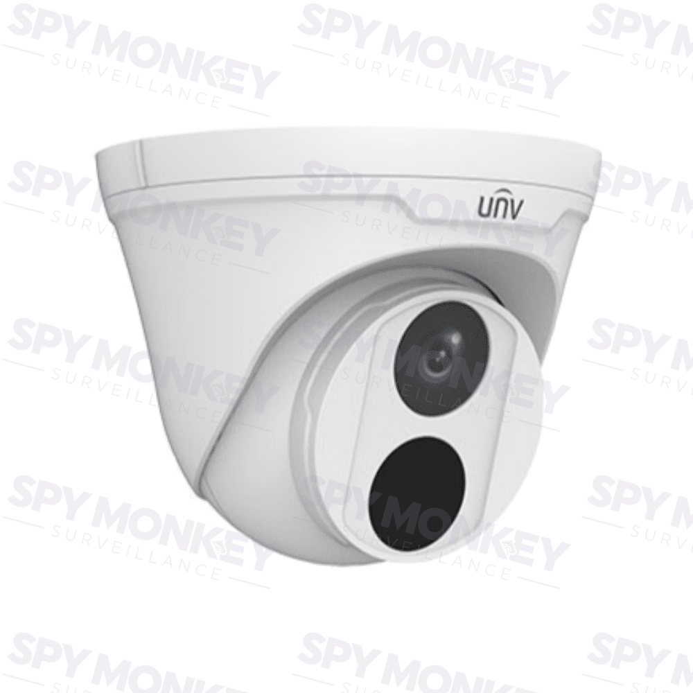 Uniview 4 Channel Security System: 8MP NVR, 4 x 5MP Easy Turret Cams, 2TB HDD