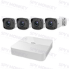 Uniview 4/8 Channel Security System: 2MP NVR, 4 x 2MP Mini-Bullet Cams, 1TB HDD