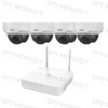 Uniview 4 Channel WiFi Security Kit: 2MP NVR, 4 x 2MP Dome Cameras, 1TB HDD