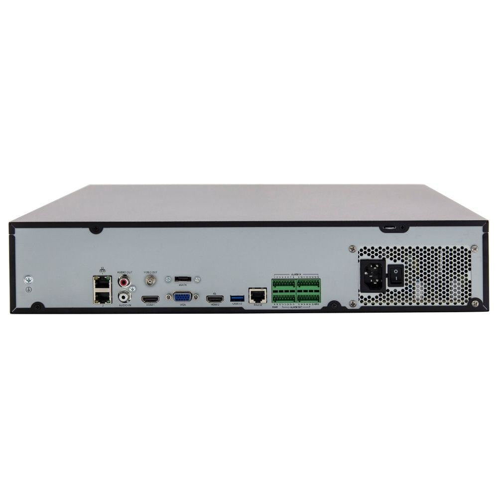Uniview 64 Channel Network Video Recorder: 12MP Ultra HD with 4TB HDD