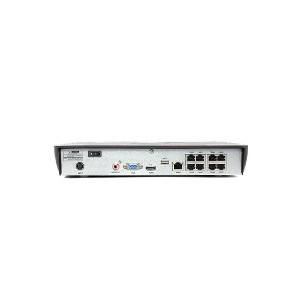 Swann 8-Channel Security System: 4K Ultra HD NVR, 6 x Bullet Camera, Spotlight, Thermal, and Face Recognition, 2TB HDD