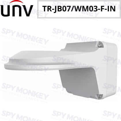 Uniview TR-JB07/WM03-F-IN Fixed Dome Outdoor Wall Mount + Junction Box