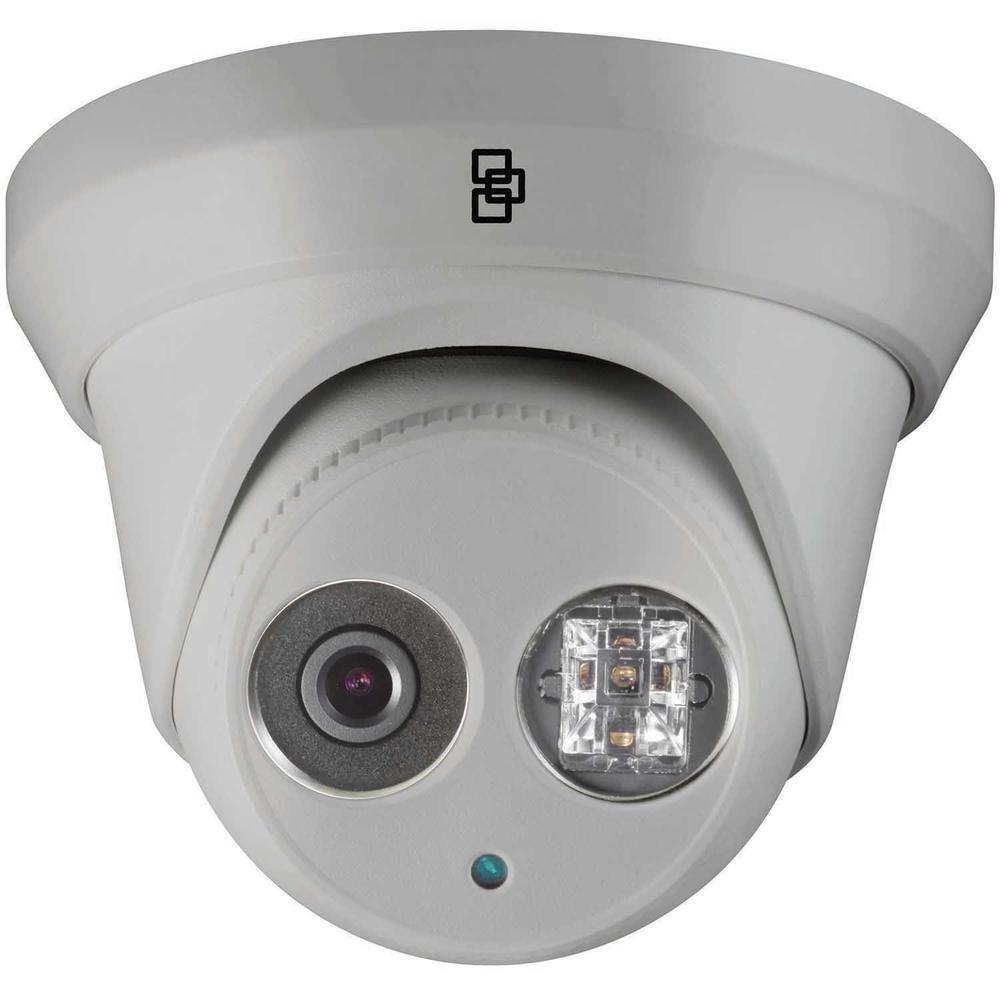 TruVision Security Camera: 4MP Turret with IR Night Vision, IP67