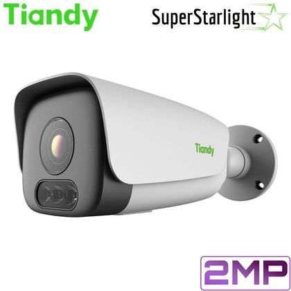 Tiandy TC-A32L4 1/A/E Security Camera: 2MP Bullet, Motorized 2.8-12mm, Super Starlight, Face Recognition