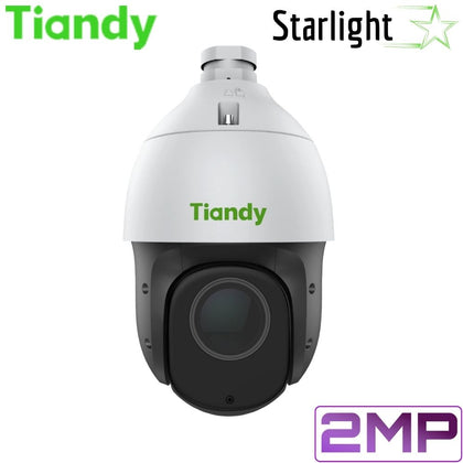 Tiandy TC-H324S 25X/I/E Security Camera: 2MP PTZ, Motorized 4.8mm~120mm, Starlight