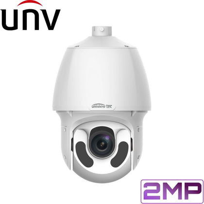 Uniview Security Camera: 2MP PTZ Dome IR, 30x Zoom, Auto Tracking