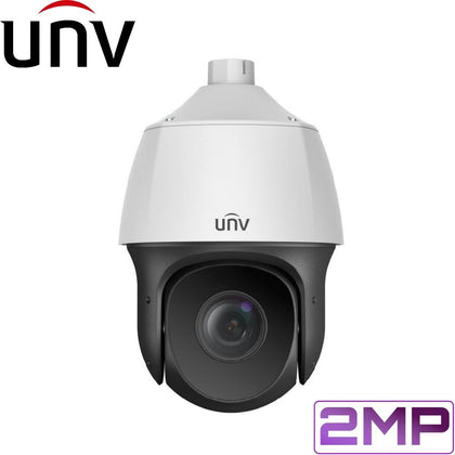 Uniview Security Camera: 2MP PTZ Dome, 22X Zoom, 150m IR