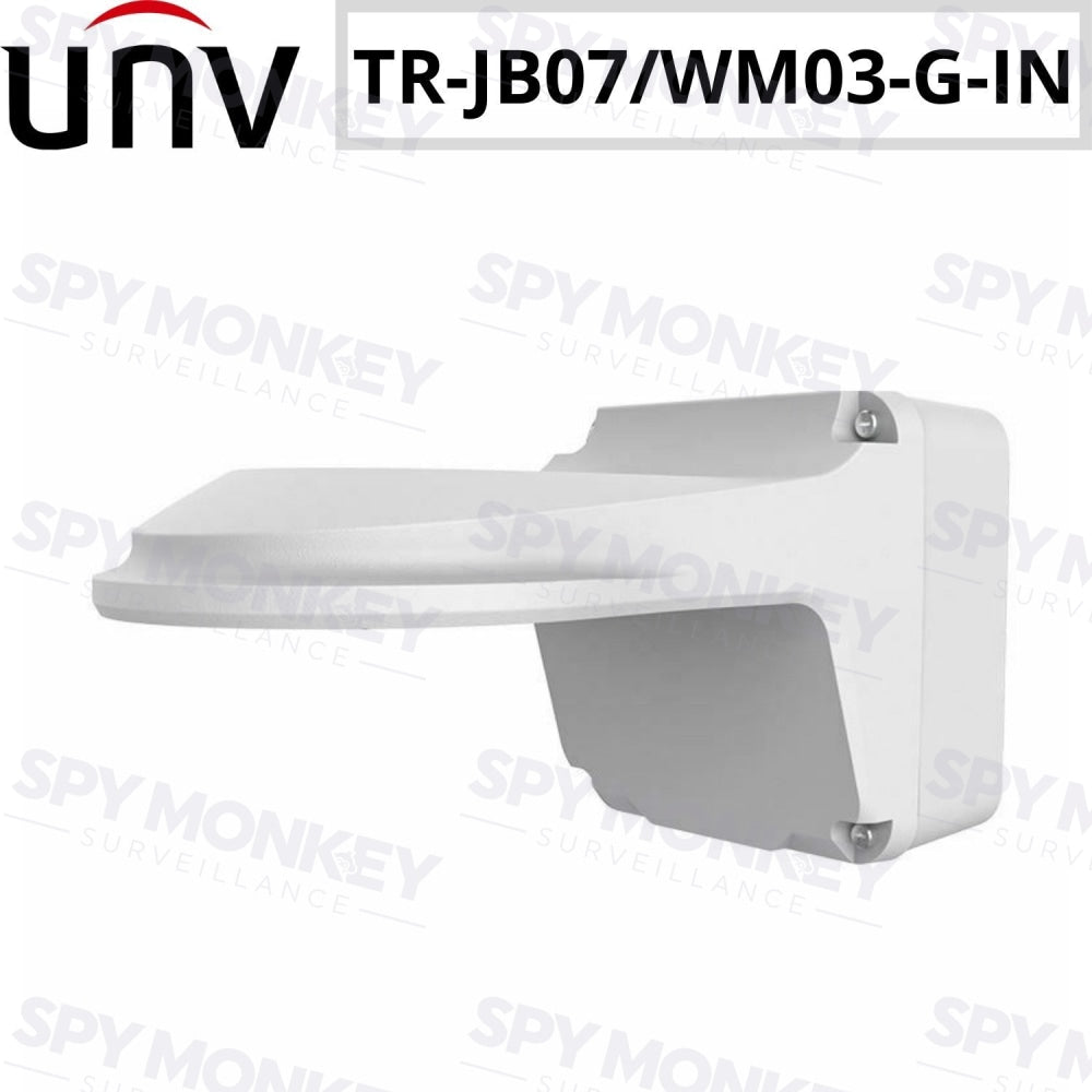 Uniview TR-JB07/WM03-G-IN Fixed Dome Outdoor Wall Mount + Junction Box
