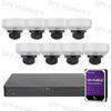 Uniview 16 Channel Security System: 8MP NVR, 8 x 5MP VF Dome Cameras, 3TB HDD
