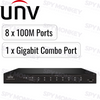 Uniview PoE Switch: 8 PoE Ports, 100Mbps