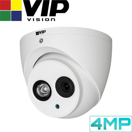 VIP Vision Pro Security Camera: 4MP Turret, 50m IR, IP67