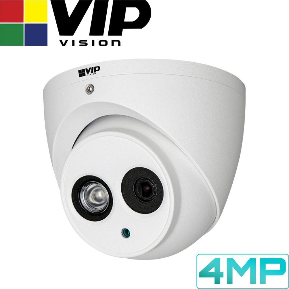 VIP Vision Pro 16 Channel Security Kit: 12MP NVR, 16 X 4MP Turret Cameras, 4TB HDD