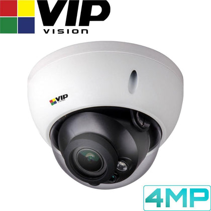 VIP Vision Pro Security Camera: 4MP Dome, 2.7 ~ 13.5mm VF Lens