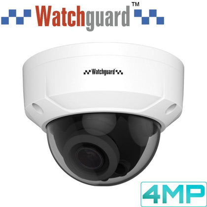 Watchguard Security Camera: 4MP Dome, 2.8mm~12mm VF Lens