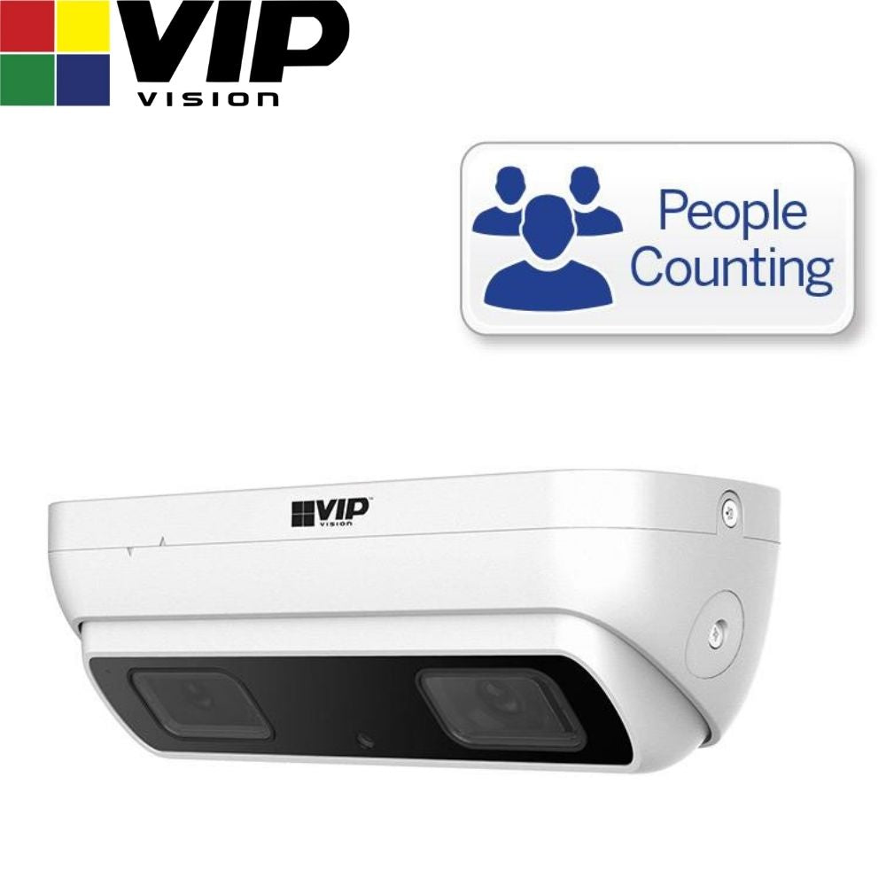 VIP Vision Security Camera: 3MP Dual Lens, Specialist AI Series, 2.8mm
