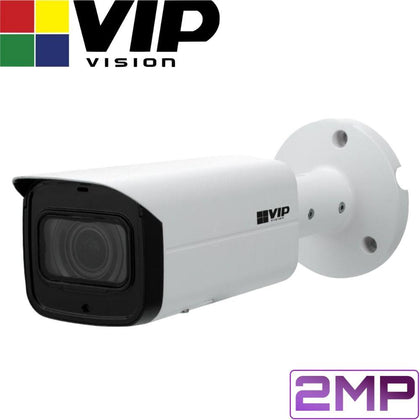 VIP Vision Pro Security Camera: 2MP Bullet, 60m IR, IK10