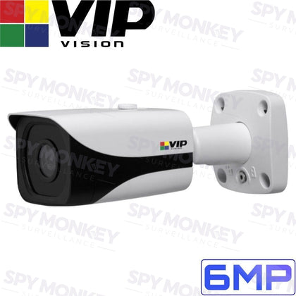 VIP Vision Pro Security Camera: 6MP Mini Bullet, IP67