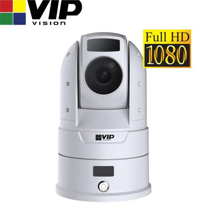 VIP Vision Security Camera: 2MP PTZ, Professional Series, 6-180mm