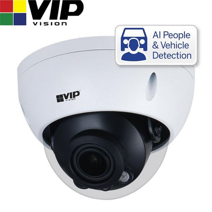 VIP Vision Security Camera: 4MP Dome, Professional AI Series, 2.7-13.5mm