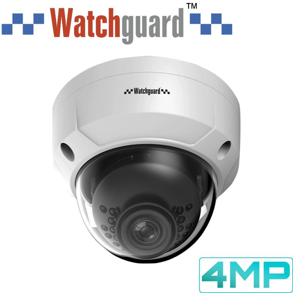 Watchguard Security Camera: 4MP Dome, 2.8mm Fixed Lens