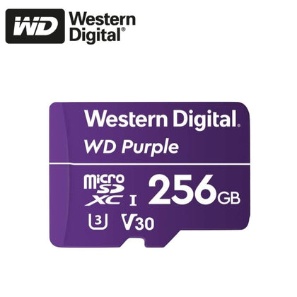 Western Digital Purple MicroSD Card: 256GB - WDSD256GB
