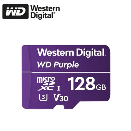 Western Digital Purple MicroSD Card: 128GB - WDSD128GB