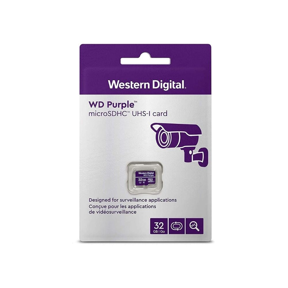 Western Digital Purple MicroSD Card: 32GB - WDSD32GB