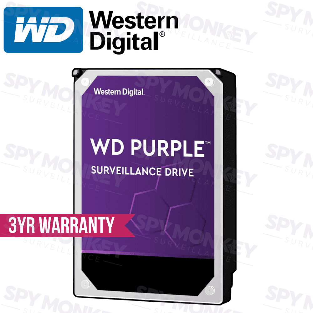 Western Digital Purple Surveillance Hard Drive