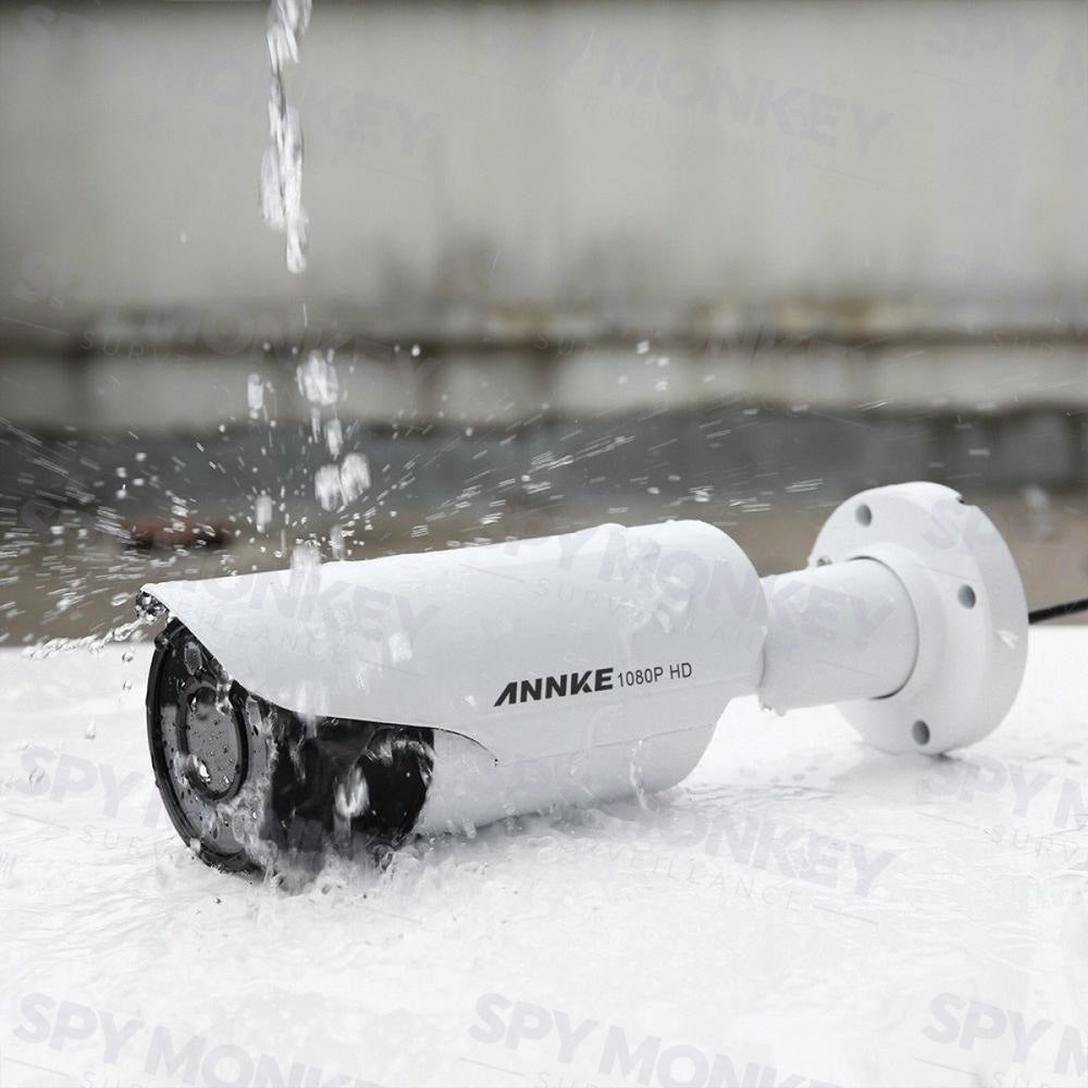 Annke Analogue Security Camera: 1080P HD Motorised Varifocal Bullet