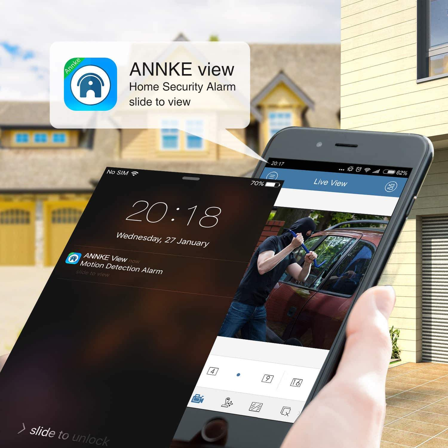 Annke 16 Channel Network Video Recorder: 8MP 4K Ultra HD with POE