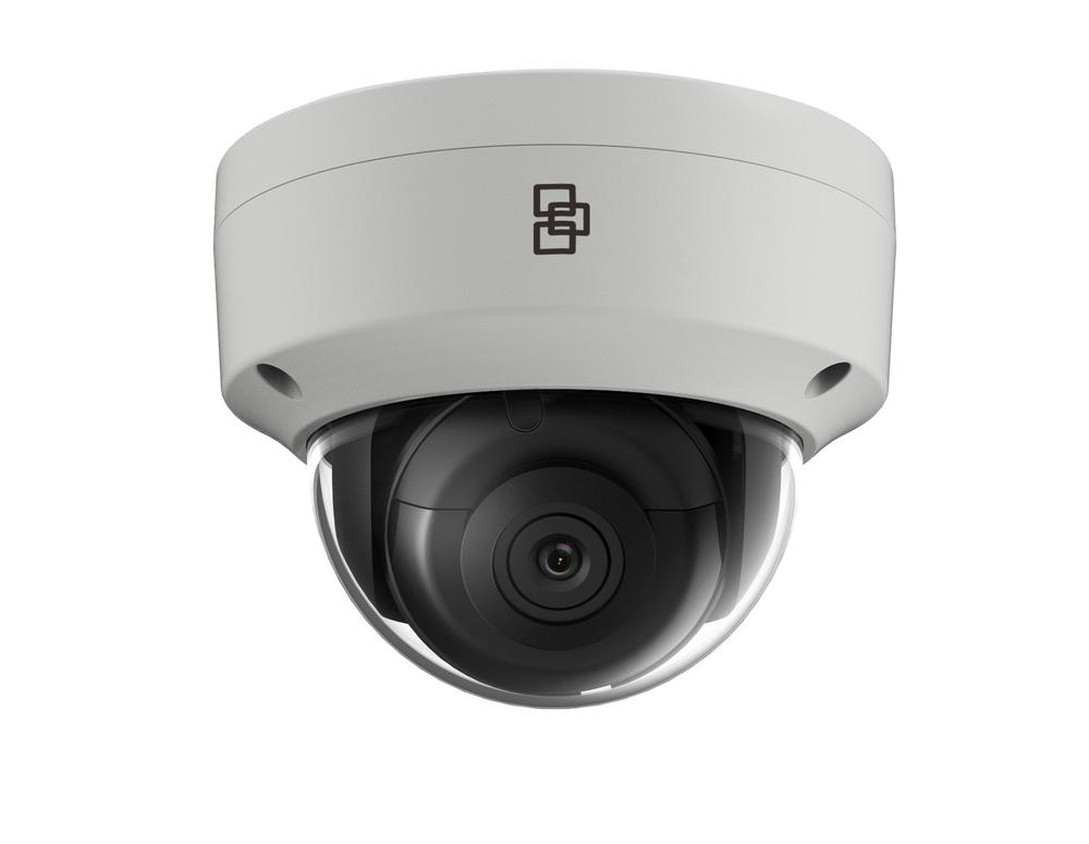 TruVision Security Camera: 8MP (4K) Ultra HD Dome with IK10 Protection