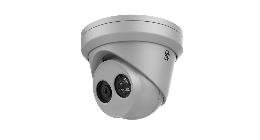 TruVision Security Camera: 8MP (4K) Ultra HD Turret with IR Night Vision