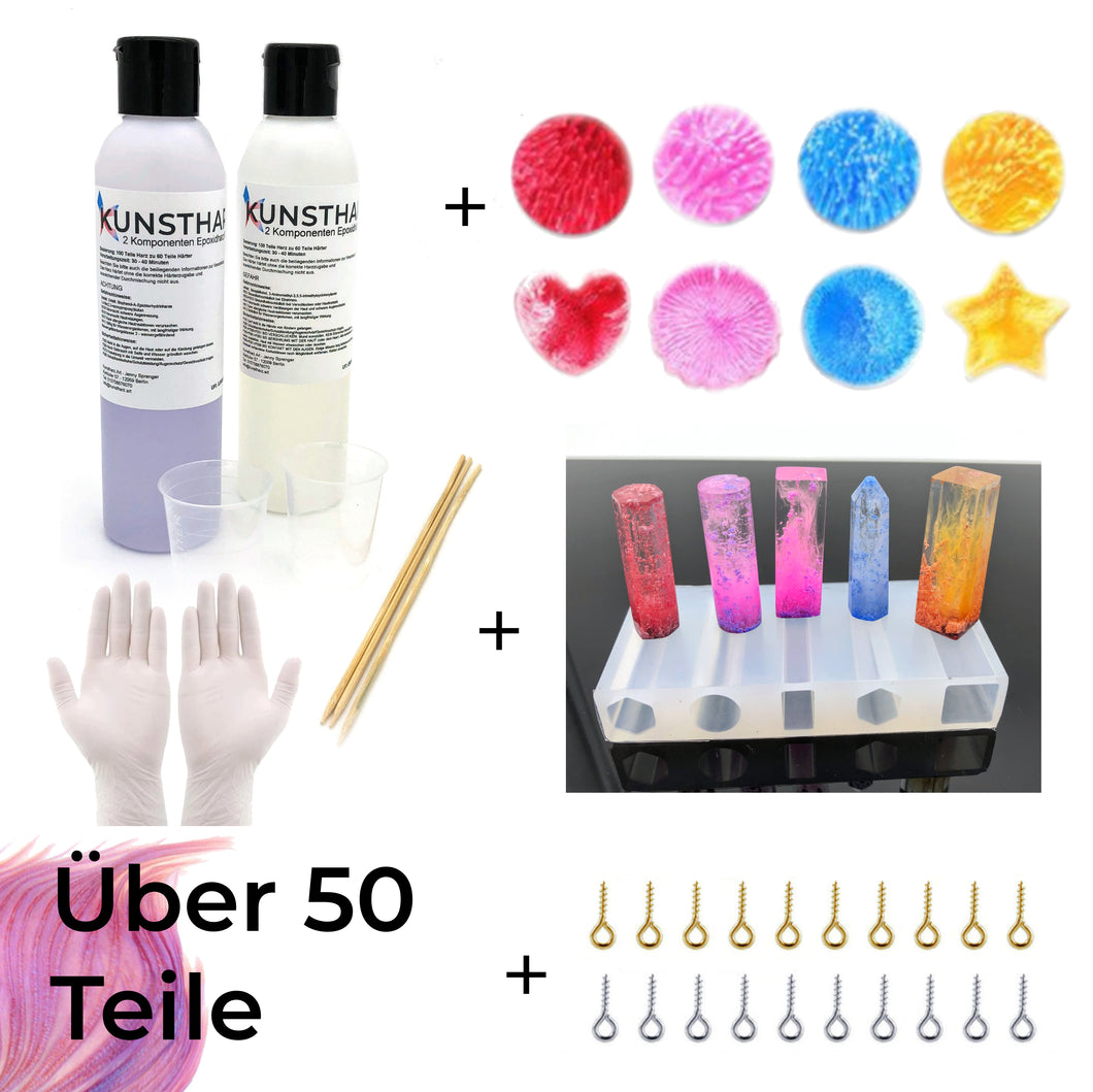 Set für Drop & Nebulaeffekt mit Alkoholtinte