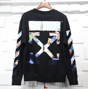 Off White Sweater Black