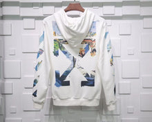 Load image into Gallery viewer, Off White Zipped Hoodie White