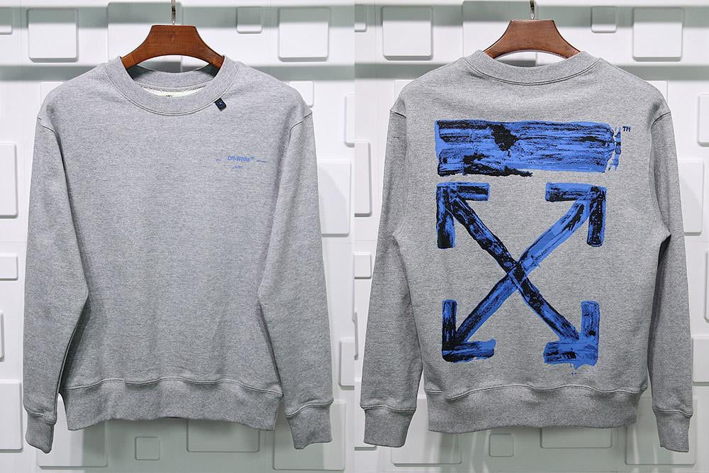 Off White Sweater Gray